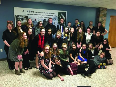 Students work together to brighten the music suite