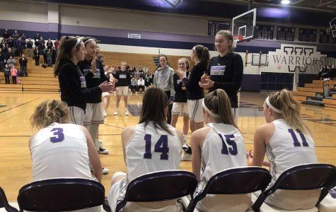 Girls basketball regular season close to wrapping up