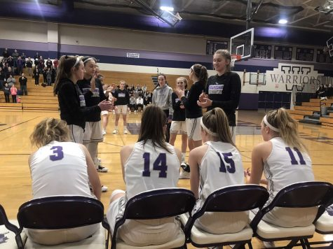 Girls basketball regular season close to wrapping up