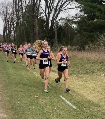 Girls Cross Country team qualifies for state